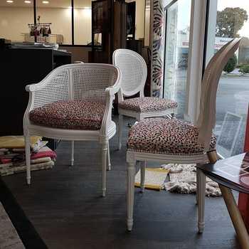 Réfection de chaises Louis XVI