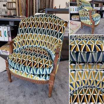 Rénovation d''un fauteuil - Lanvollon (22)
