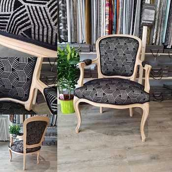 Restauration d''un fauteuil LOUIS XV