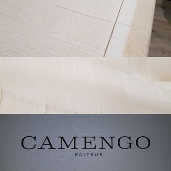 Voilage semi-transparent CAMENGO