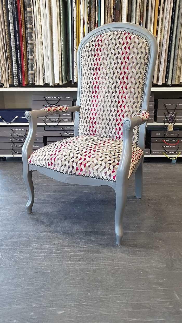 Réfection d''un fauteuil Voltaire - Département 22 0